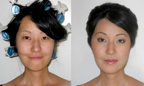 Bridal Before and After
