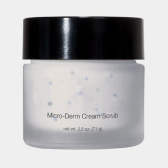 Micro Derm Cream Scrub - Give yourself a professional exfoliating treatment at home.